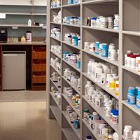 Pharmacy Storage Shelving