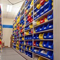 Pfizer Mobile Shelving Parts Storage