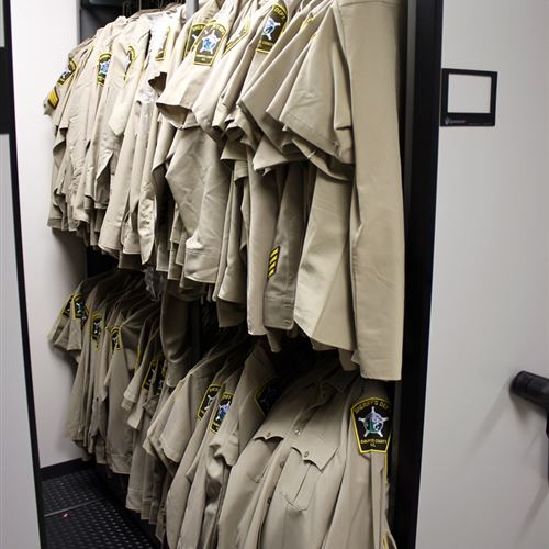 High Density Uniform Storage for Public Safety