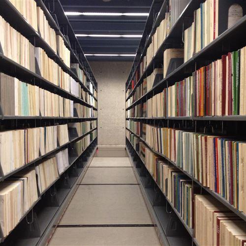 Mobile Library Shelving at University of Nebraska Omaha, Criss Library