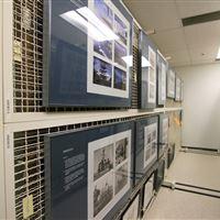 Art Racks for Print Storage at the Naval Undersea Museum