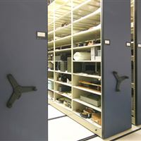 High Density Mobile Storage for Navy Artifacts