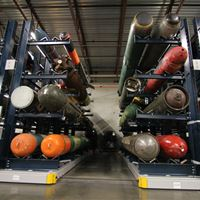 ActivRAC Storage system for US Navy Naval Undersea Museum