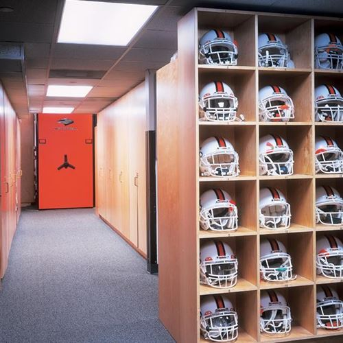University of Miami Hurricanes Utilizes Mobile Systems for Athletic Equipment Storage