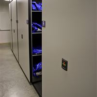 Powered High-Density Mobile Storage for Public Safety