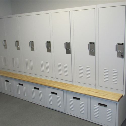Equipment Locker at James City Police Department