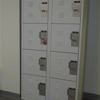 Evidence Storage Lockers at James City Police Department