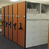 Equipment Storage Drawers at James City Police Deparment