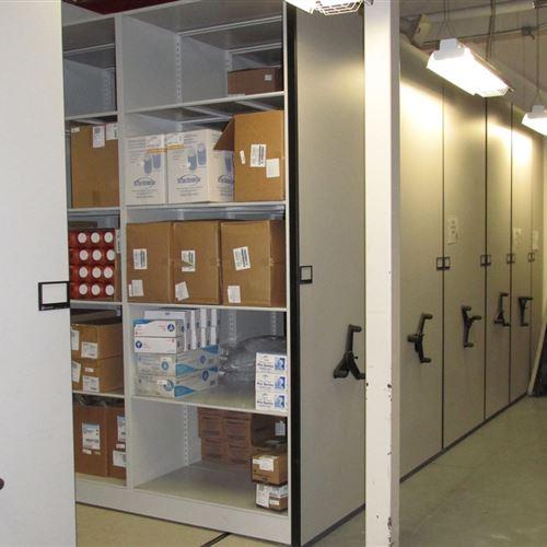 High Density Mobile Storage for Langley Logistics