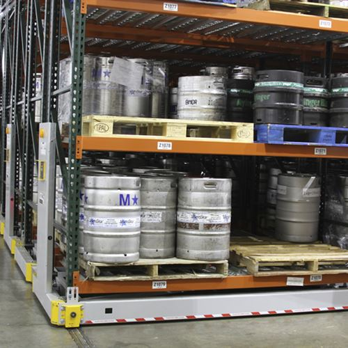 Keg Storage on ActivRAC 16P