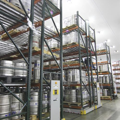 Cold Storage Solution for Pallets of Beer