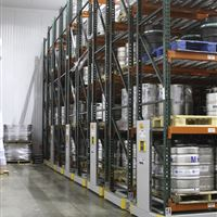 Mobile Pallet Racks to Store Kegs