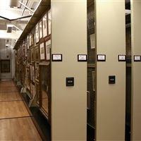 Compact Art Rack Shelving at Delaware Art Museum