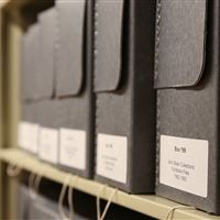 Archival Storage at Delaware Art Museum
