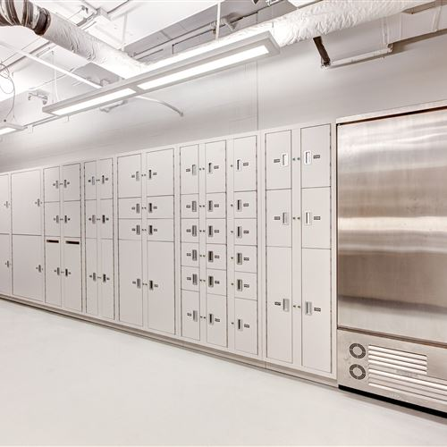 Secure Evidence Lockers at Salt Lake City Public Safety Building