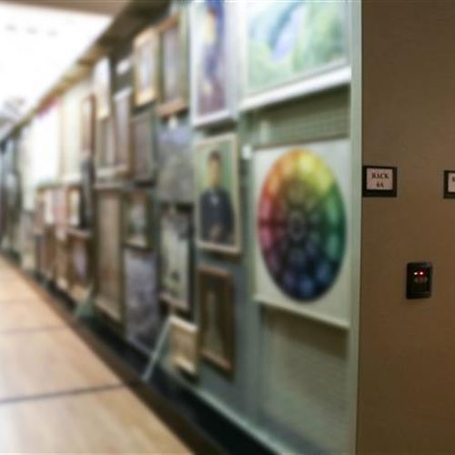 Spacesaver Maximizes Space With Art Storage System in the Delaware Art Museum