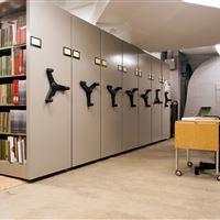 Museum Book Collection Storage System, Cincinnati Art Museum