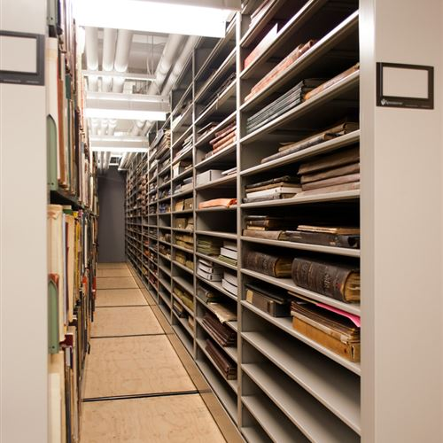 Rare Book Storage, Cincinnati Art Museum