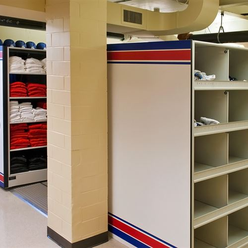 Dayton Flyers Football Equipment Storage