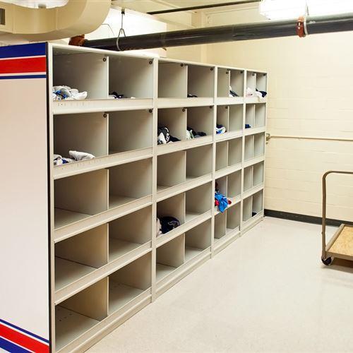 Athletic Gear and Uniform Storage