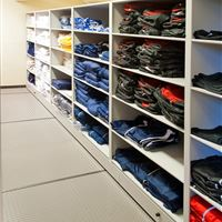 Uniform and Cold Weather Gear Storage
