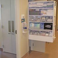 Open CoreStor Unit in Hospital Hallway