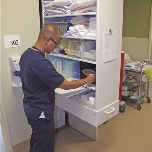 Method-of-Care Mind Shift When It Comes to Health Care Storage