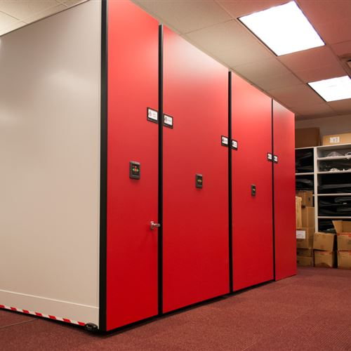 High Density Athletic Storage at Ohio State