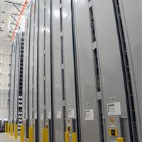 XTend Mobile High-Bay Shelving for WMU