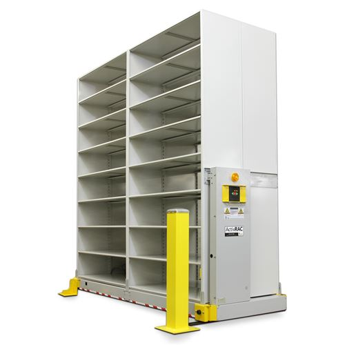 ActivRAC 7P Powered Mobile Racking