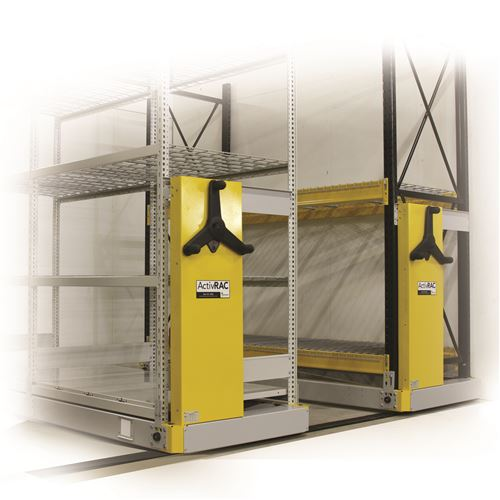 ActivRAC 7M Industrial Mobile Racking