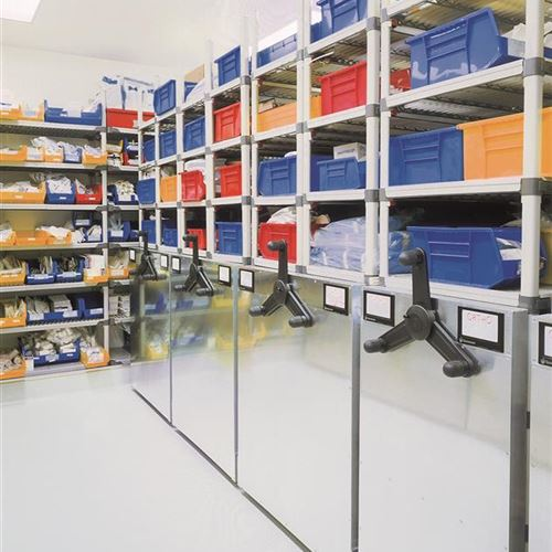 Sterile Supply Storage for Operating Room Suite at the Medical College of Pennsylvania