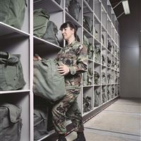 Gear bag Storage for Air National Guard
