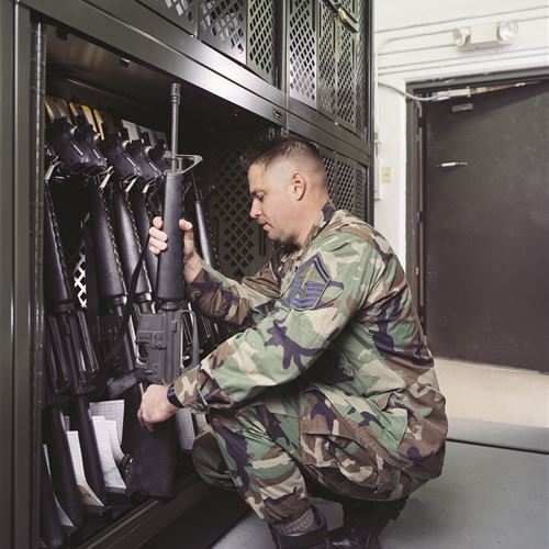 Weapons Storage at Colorado National Guard