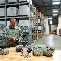 Warehouse Mobile Racking at Camp Ripley