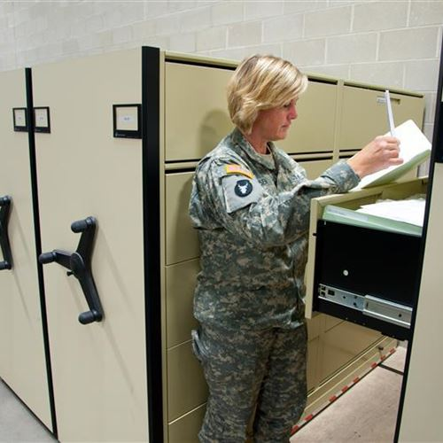Putting Existing Space to Work at Camp Ripley With Mobile Racking Storage System