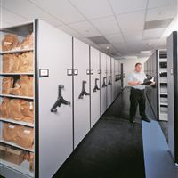 Mobile Shelving Solutions for Evidence Storage at Palm Beach County Sheriff's Department