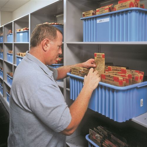 Long-Term Evidence Storage at Palm Beach County Sheriff's Department