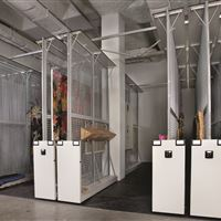 Art Rack Storage at Meadows Museum