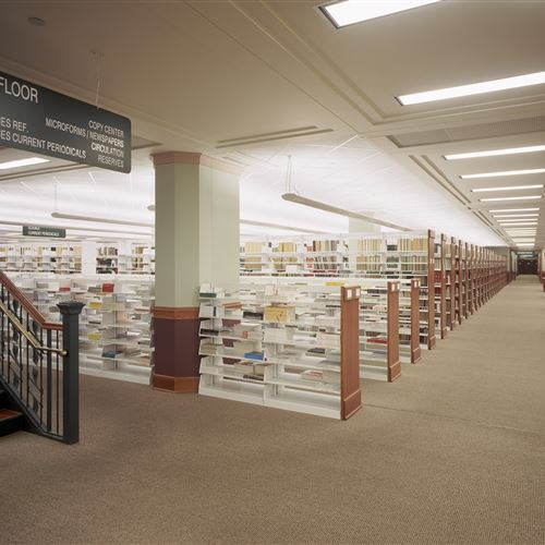 Library Shelving at Kansas State University Library