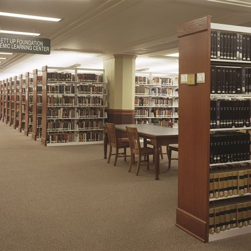 KSU Hale Library with Cantilever Shelving