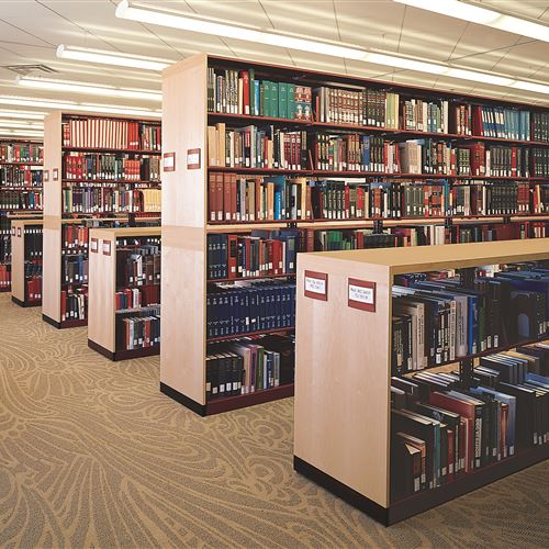 33 Linear Miles of Library Shelving at Central Michigan University