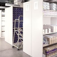 Medical Supply Storage on  Static 4Post shelving