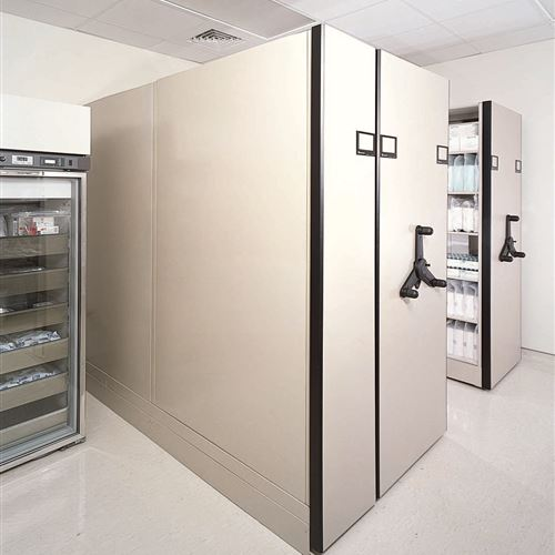 Mobile sterile healthcare supplies storage