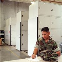 Secure Locker Storage with the Naval Seabees