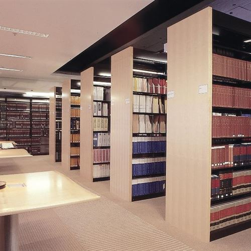 High-Profile Law Firm Selects Spacesaver's Cantilever Shelving for Newly Designed Space