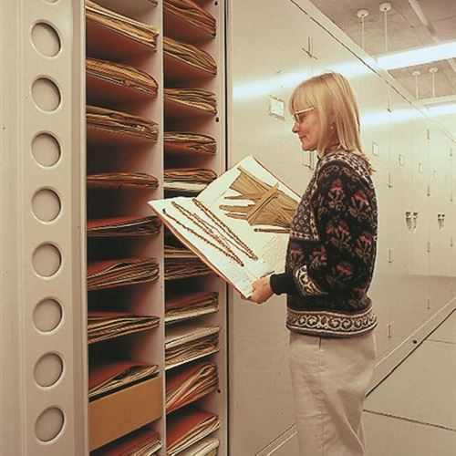 World-renowned Herbarium and Collections Stored on Compact Mobile Shelving