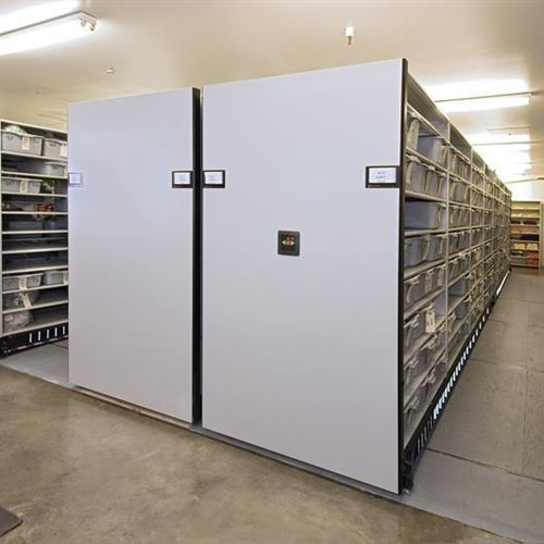 High-density Mobile Storage System Doubles Capacity For Inmate Property at Arapahoe County Detention Center
