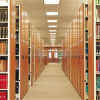 Tulane University Law Library bookcases