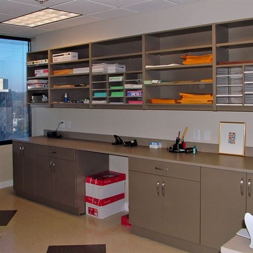 Great Modular Casework For Office Supply Storage